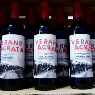 wijn geproduceerd door de anarchistische vakbond CNT
