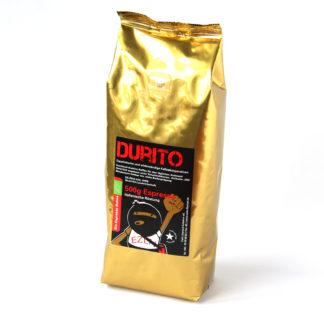 donker geroosterde biologische espressobonen van zapatista koffiebedrijven in Mexico