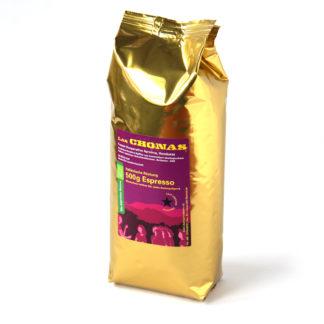 donker geroosterde espressobonen van feministisch collectief Aprolma