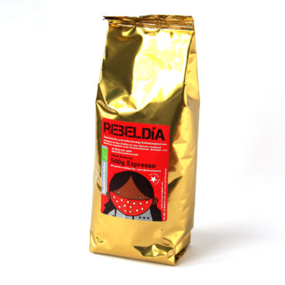 milde espressobonen geproduceerd door democratische zapatistacoöperaties