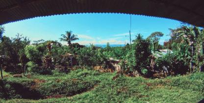 uitzicht over landbouwgemeenschap Finca Sonador