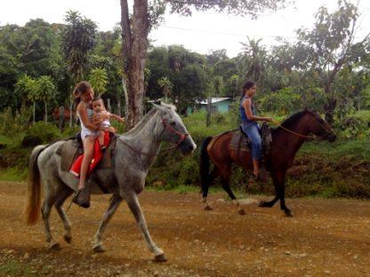 het dagelijks leven in vrije gemeenschap Finca Sonador in Costa Rica
