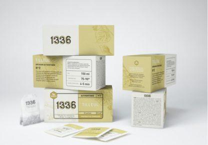 thee van lindebloesem van vrij en eerlijk bedrijf SCOP-TI uit zuid-frankrijk