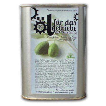 natuurvriendelijke zachte extra vergine olijfolie
