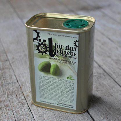 extra vergine en duurzame zachte olijfolie uit kreta van vrij bedrijf becollective