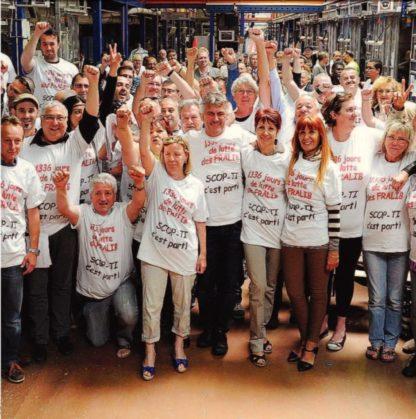 overwinning van SCOP-TI medewerkers