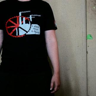 T-shirt van vrij bedrijf Vio.Me