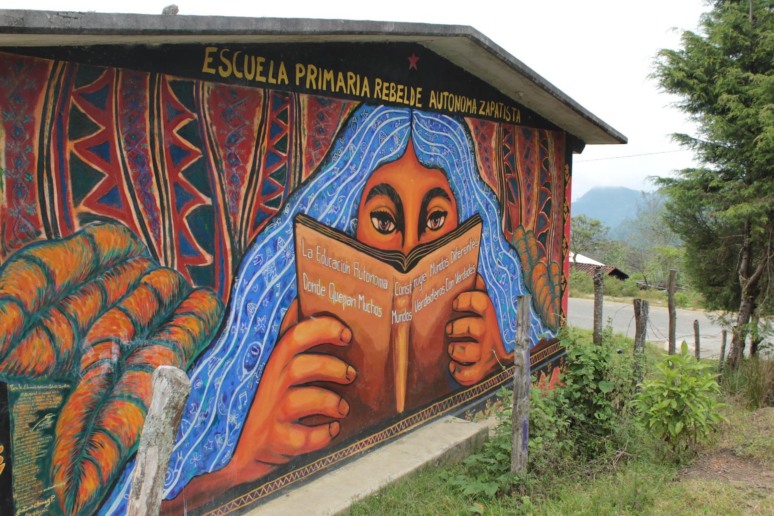 zapatista school onder andere gefinancierd met geld van handel in zapatistakoffie