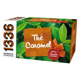 zwarte thee met karamel van franse coöperatie SCOP-TI