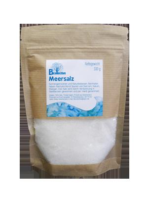 traditioneel gewonnen zeezout van de zuidkust van kreta van vrij bedrijf becollective