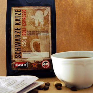 biologische eerlijke en vrije espresso