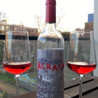 biologische rosé wijn
