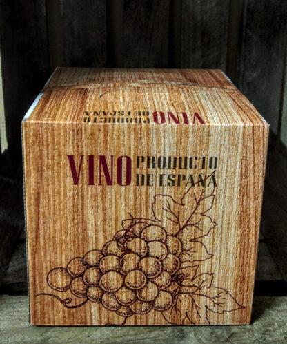 5 liter doos biologische en eerlijke wijn