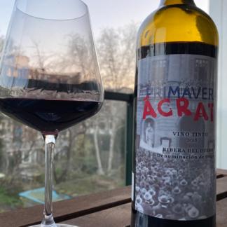 biologische rode wijn primavera acrata