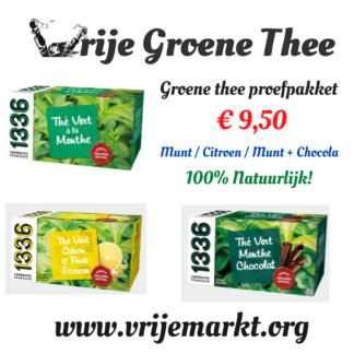 groene thee proefpakket