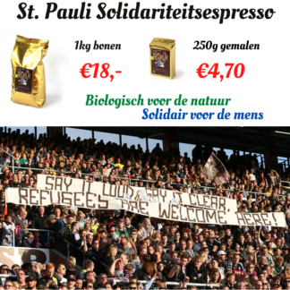st pauli biologische espresso
