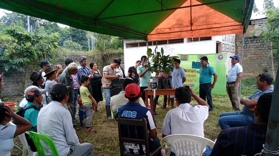 CACVRA kleine boerencoöperatie in het Andesgebergte van Peru