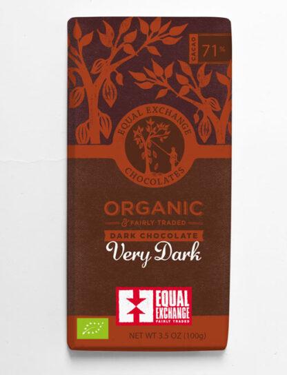 biologische fairtrade pure chocolade