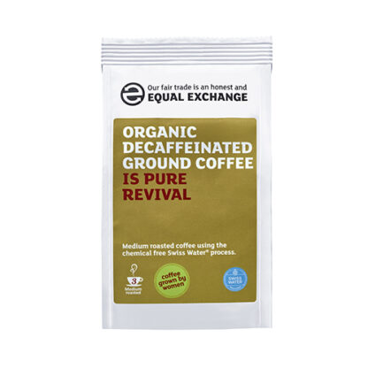 biologische fair trade decafé koffie caffeïnevrij