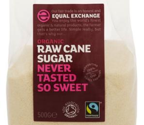biologische fair trade ruwe rietsuiker