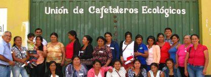 deelnemers aan het feministische koffieproject Grown by Women