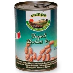 italiaanse biologische borlotti bonen