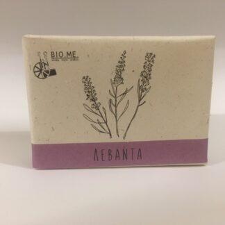 natuurlijke olijfoliezeep met lavendel