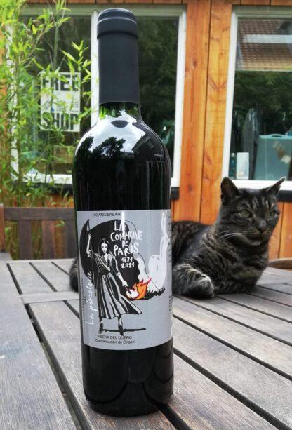 anarchistische en biologische rode wijn